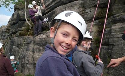 Rock Climbing instruction                                           from Derwent Adventures
